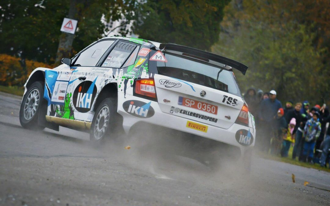 Kalle Rovanperä became Latvian Rally Champion 2016