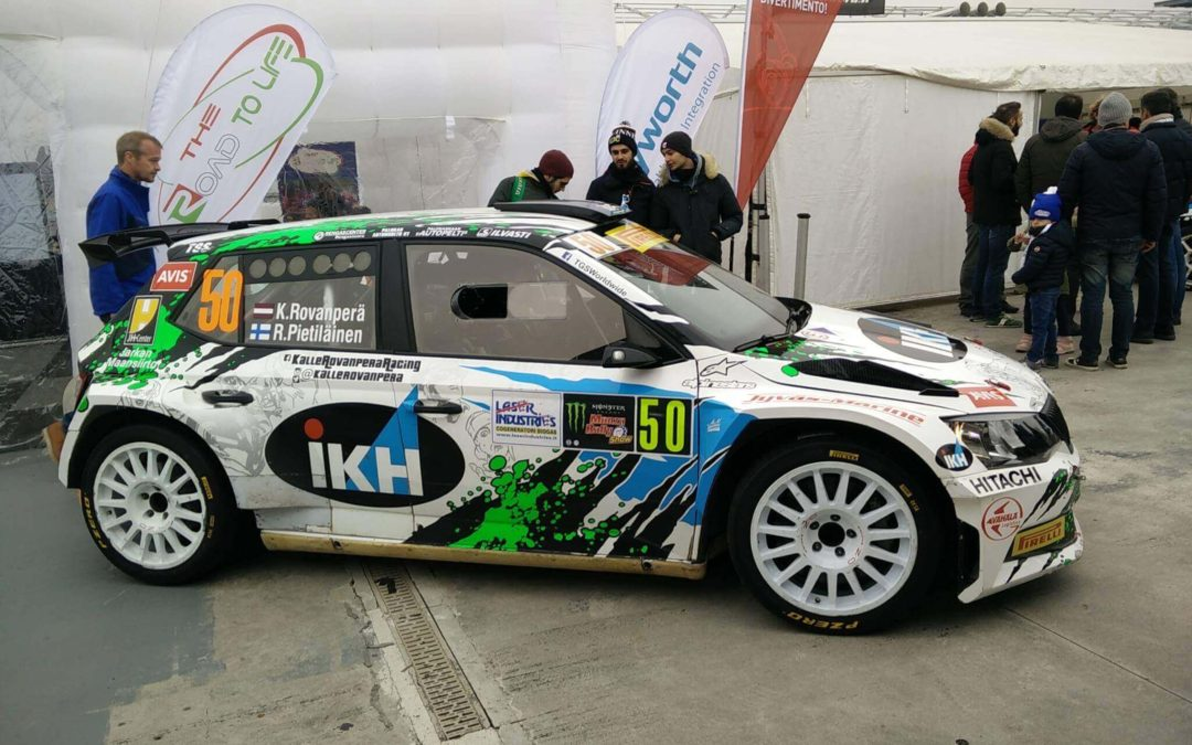 Kalle Rovanperä at Monza Rally Show 2016