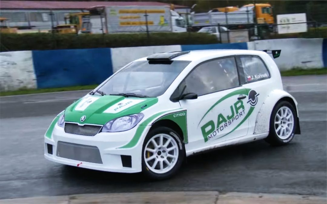 Škoda Citigo RXS1600 successfully tested!