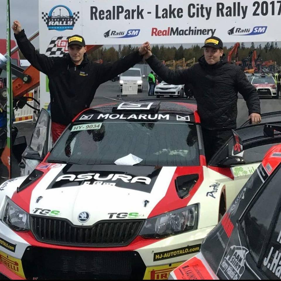 Eerik Pietarinen first at Lake City Rally | LMP Racing, Racing car ...